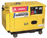 3kw Silent Single Phase Diesel Generator with CE (LB4000LN-1)