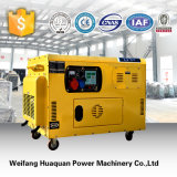 OEM High Quality Portable Portable Silent Type Generator 10kw, Air Cooled Silent Diesel Generator 12.5kVA for Home Use.