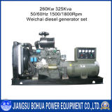 325kVA Water Cooled Open Type Wholesale Weichai Diesel Generator