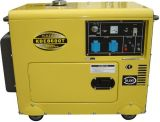 6kVA Silent Type Air-Cooled Diesel Generator (KDE8600T)