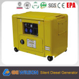 6.0kw Small Silent Portable Power Diesel Generator