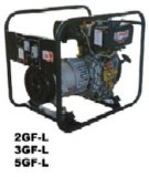2GF-L/M/ME (2KW) Air Cooled Kipor Type Open Frame Electric Power Diesel Generator Set