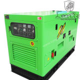 15kVA Double Cylinder Water Cooled Cummins Engine Silent Diesel Generator