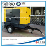 Trailer Mounted 50kw/62.5kVA Portable Diesel Generator with Silent Canopy
