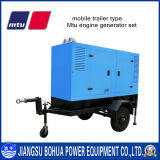 Mobile Type 313kVA CE Approved Super Silent Mtu Engine Diesel Generator