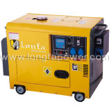5kVA/6kVA7kVA/8kVA Kipor Model Single Phase Silent Diesel Generator