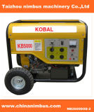 2.5kw 100%Copper Wire Kobal Gasoline Generator Set with Wheels