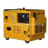 2015 New Type 5.5kw / 5.5kVA Portable Super Silent Gasoline Generator