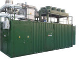 Googol Container Gas Generator Set 1500kw 50Hz
