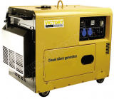 4.5kw Small Portable Diesel Silent Generator with CE/CIQ/Soncap/ISO