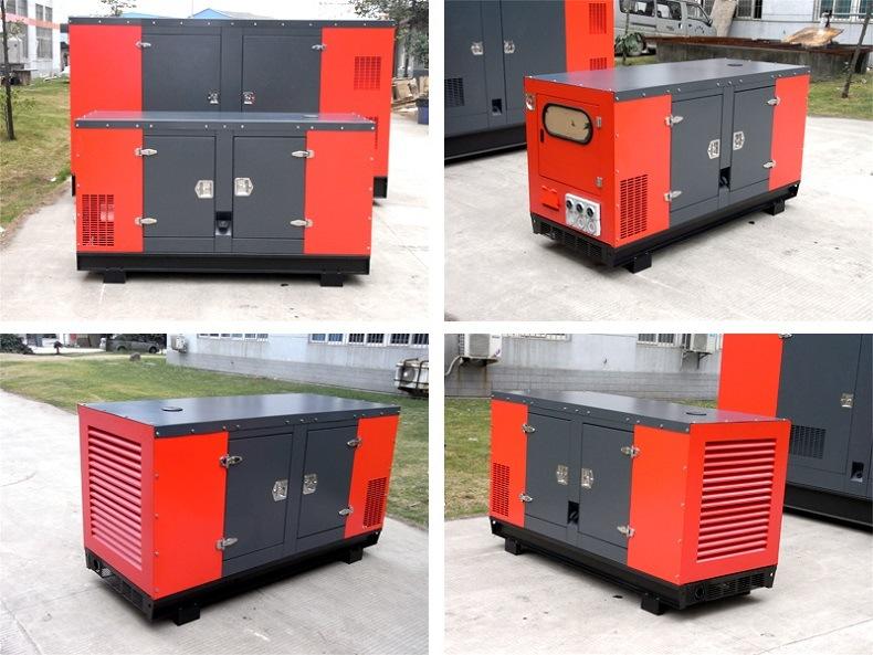 15kVA Water Cooled Japan Kubota Engine Diesel Electric